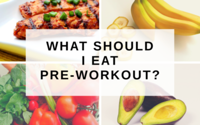 What Should I Eat Pre-Workout